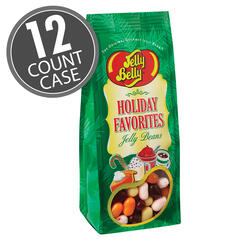 Holiday Favorites Jelly Bean 7.5 oz Gift Bag - 12 Count Case