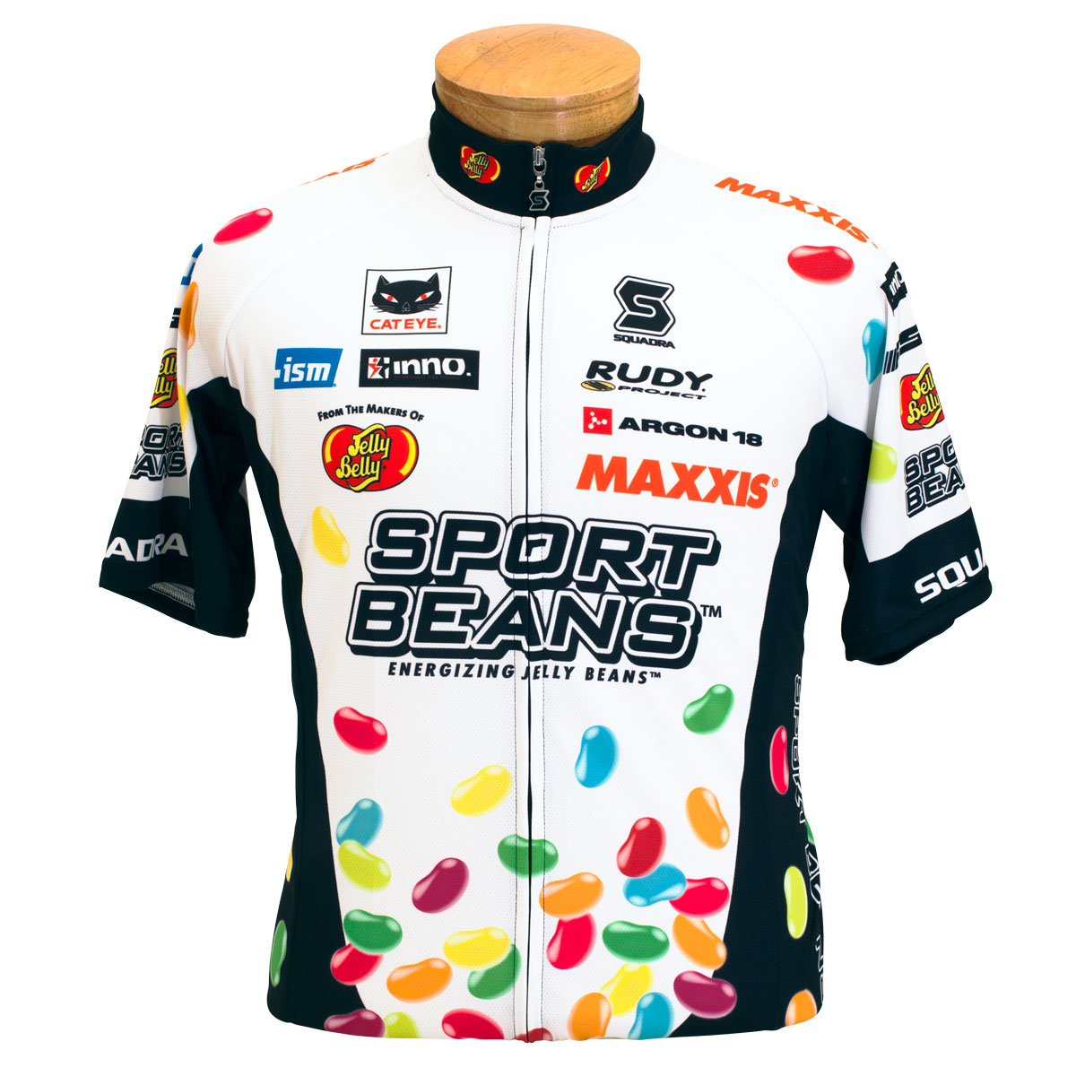 Jelly Belly 2015 Pro Cycling Team Jersey - Adult - Large