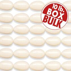 White Jordan Almonds - 10 lbs bulk