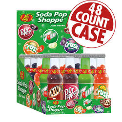 Soda Pop Shoppe® Jelly Beans - 1.5 oz. bottles - 48-Count Case