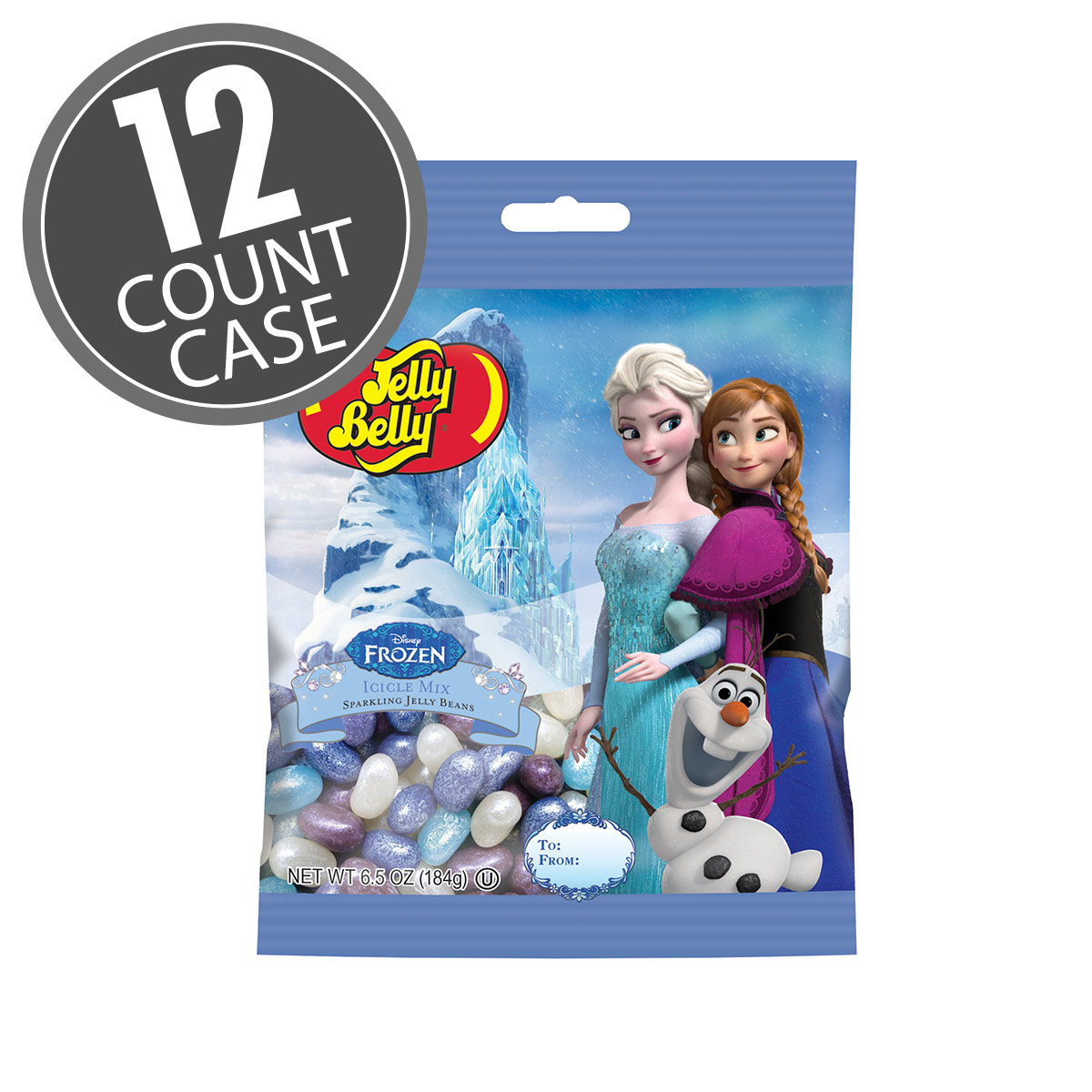 Disney© FROZEN Jelly Bean 6.5 oz Bag - 12 Count Case