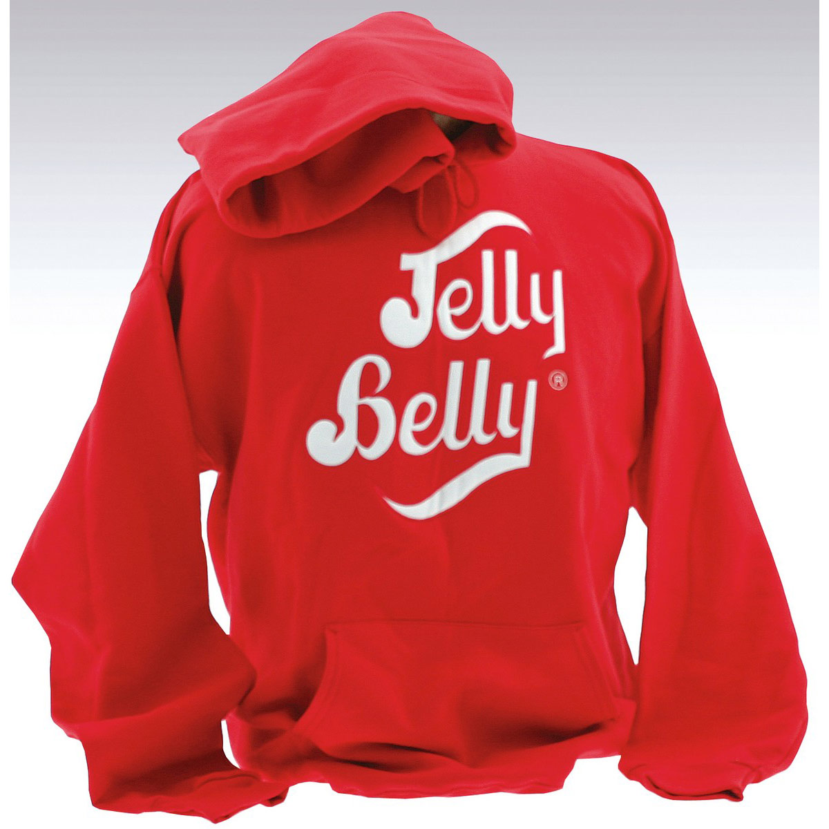 Jelly Belly Red Hooded Sweatshirt – Adult Medium