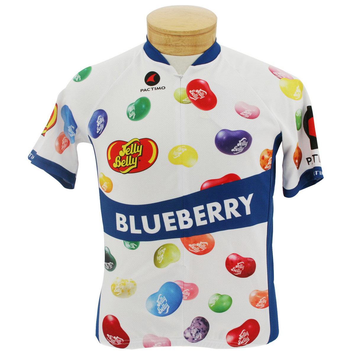 Jelly Belly Blueberry Cycling Jersey - Adult - X-Small