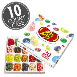 20-Flavor Jelly Bean Gift Box - 10-Count Case