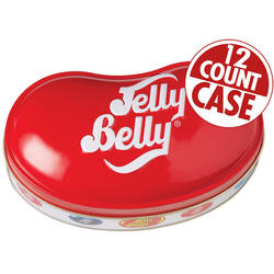 49 Assorted Jelly Bean Flavors Bean Tin - 9.5 oz - 12-Count Case