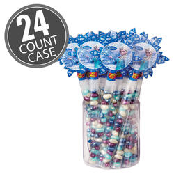 Disney© FROZEN Princess Wands - 0.8 oz Jelly Beans - 24 Count Case