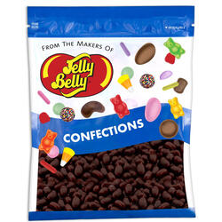 Jelly Bean Chocolate Dips® - Raspberry - 16 oz Re-Sealable Bag