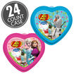 Disney© Frozen Jelly Bean 1 oz Valentine Heart - 24 Count Case