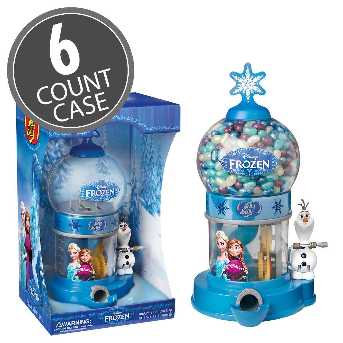 Disney© FROZEN Bean Machine - 6 Count Case