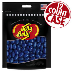 Blueberry Jelly Beans Party Bag - 7.5 oz Bag - 12 Count Case