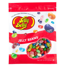 Kids Mix Jelly Beans - 16 oz Re-Sealable Bag