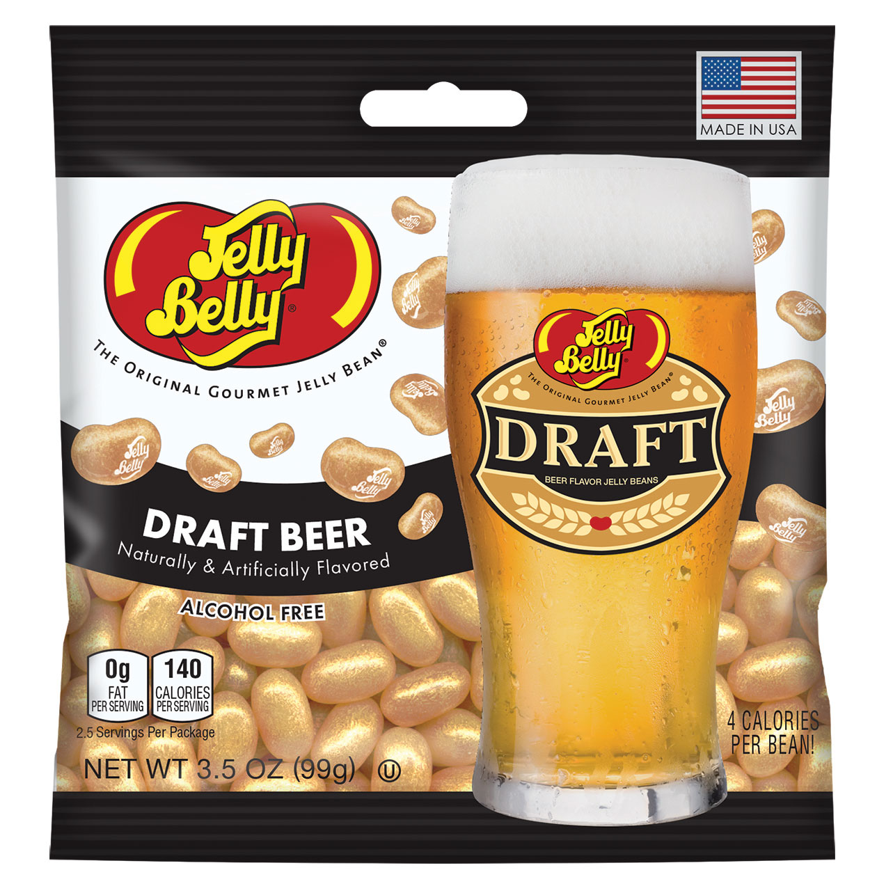 Draft Beer Jelly Beans - 3.5 oz Bag