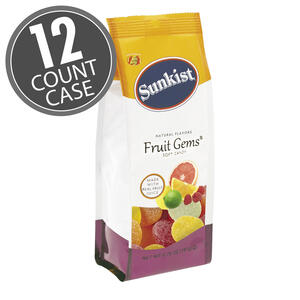 Sunkist® Fruit Gems® - 6.75 oz. Gift Bags - 12-Count Case
