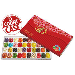 Jelly Belly 40-Flavor Valentines Day Gift Box - 5-Count Case