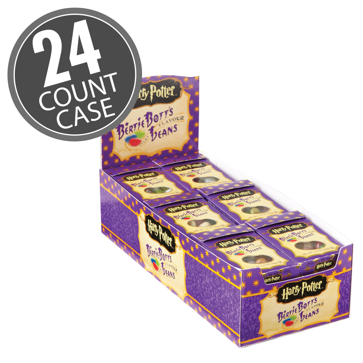 Harry Potter™ Bertie Botts Every Flavour Beans - 1.2 oz boxes - 24 Count Case