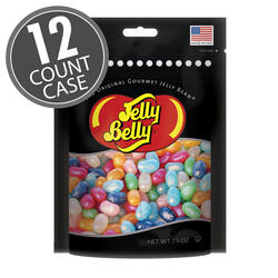 Jewel Assorted Jelly Beans Party Bag - 7.5 oz Bag - 12 Count Case