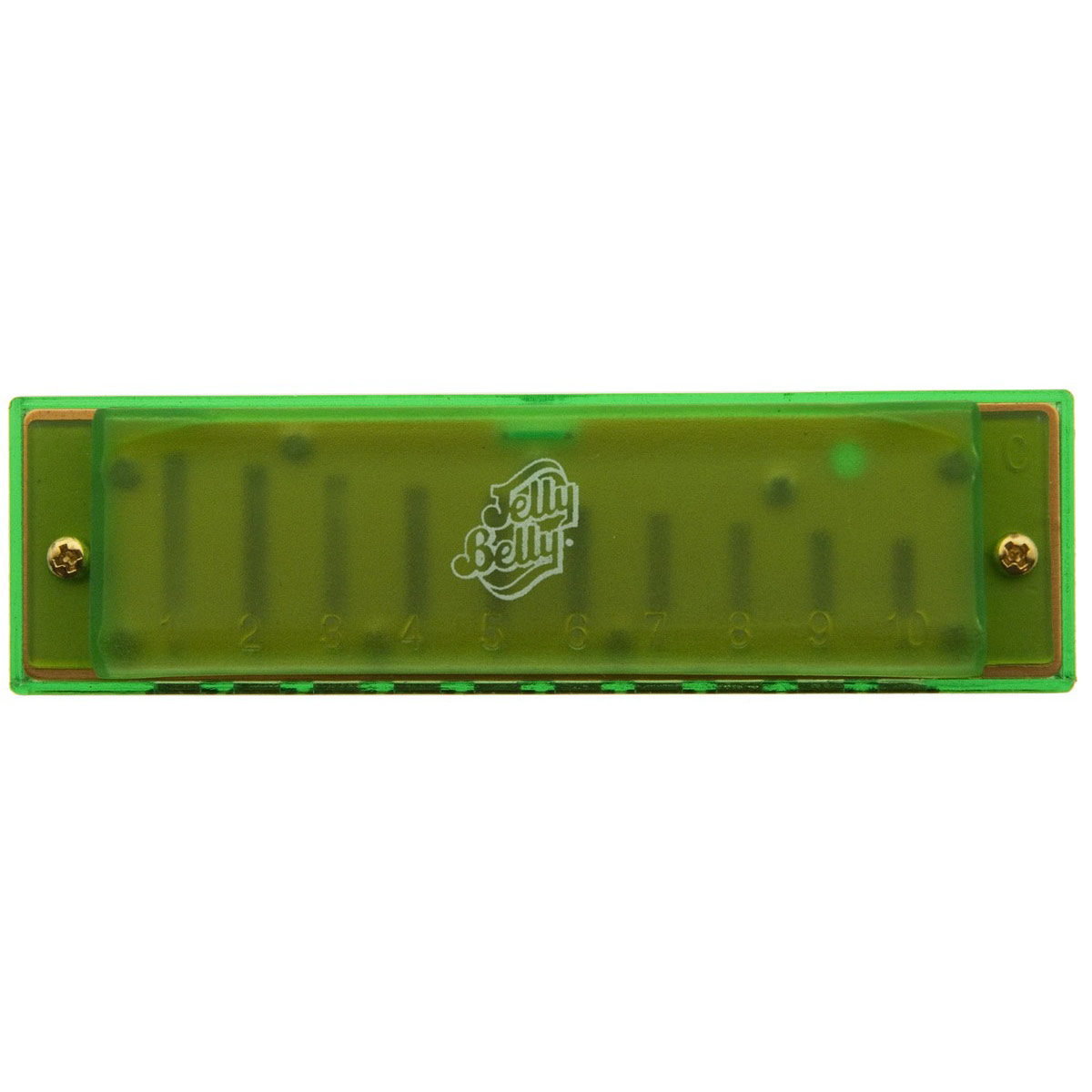Jelly Belly Hohner brand Harmonica - Green