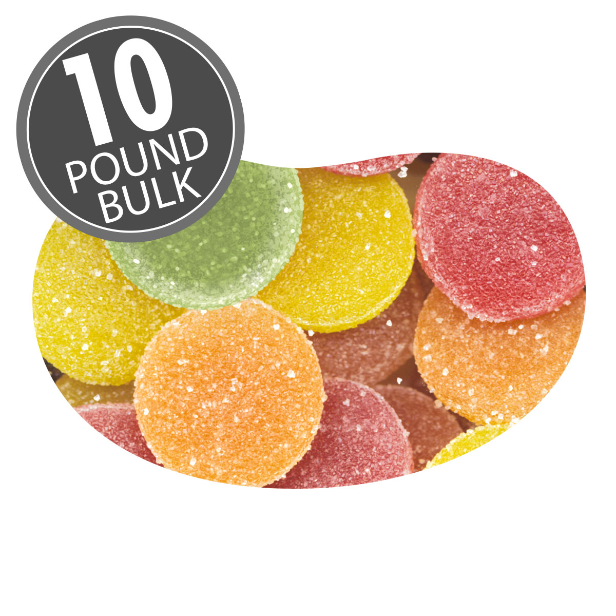 Sunkist<sup>®</sup> Fruit Gems<sup>®</sup> - (Unwrapped) - 10 lbs bulk