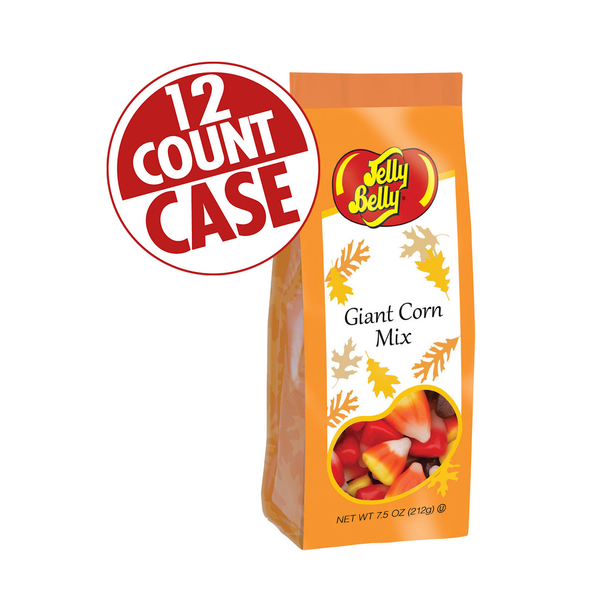 Giant Candy Corn Gift Bag - 7.5 oz Bag - 12-Count Case
