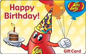 Jelly Belly Online Gift Card - Happy Birthday