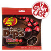 Jelly Bean Chocolate Dips<sup>&reg;</sup> - Very Cherry -2.8 oz Bag - 12 Count Case