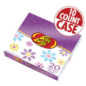 Jelly Belly Beananza 20-Flavor Gift box with Spring Sleeve - 10-Count Case