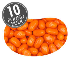 Orange Sherbet Jelly Beans - 10 lbs bulk