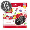 Licorice Jelly Beans - 3.5 oz Bag - 12 Count Case