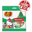 Hello Kitty Jelly Belly Christmas Deluxe Mix - 2.5 oz Gift Bag - 12 Count Case