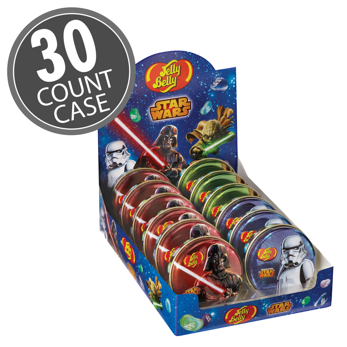 STAR WARS™ Jelly Beans Tin - 1 oz Tin - 24 Count Case