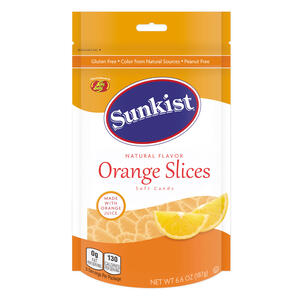 Sunkist® Orange Slices  - 6.6 oz Pouch Bag