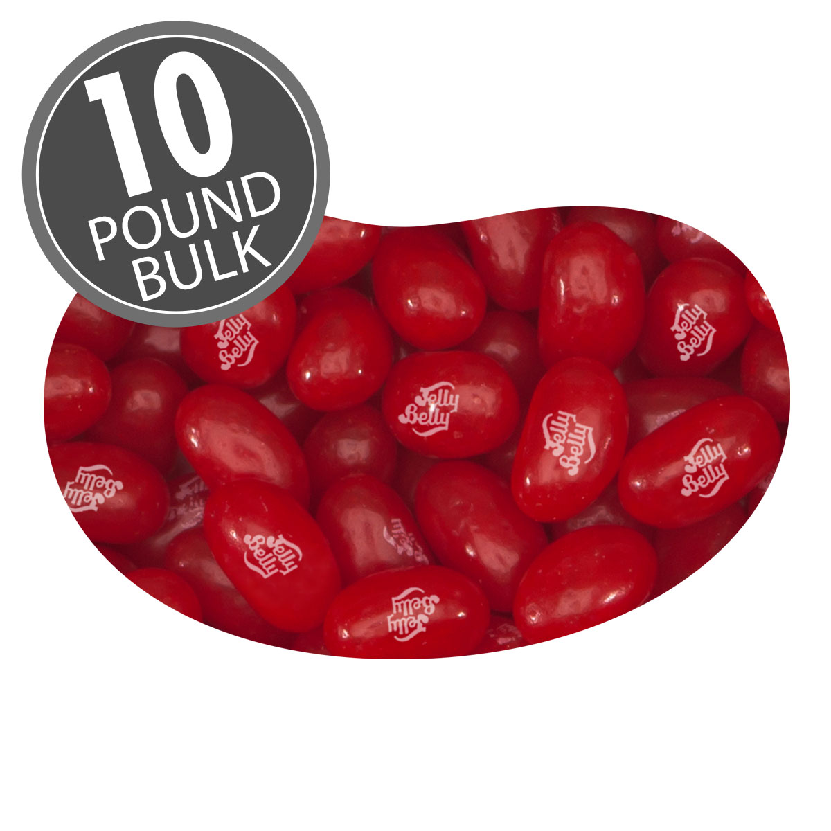 Sour Cherry Jelly Beans - 10 lbs bulk