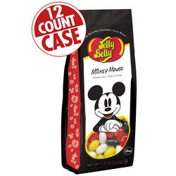 Mickey Mouse Jelly Beans - 7.5 oz Gift Bag - 12 Count Case