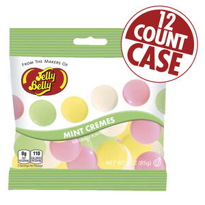 Mint Cremes - 3 oz Bag - 12 Count Case