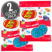 Berry Blue Jelly Beans - 16 oz Re-Sealable Bag - 2 Pack