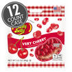 Very Cherry Jelly Beans - 3.5 oz Bag - 12 Count Case