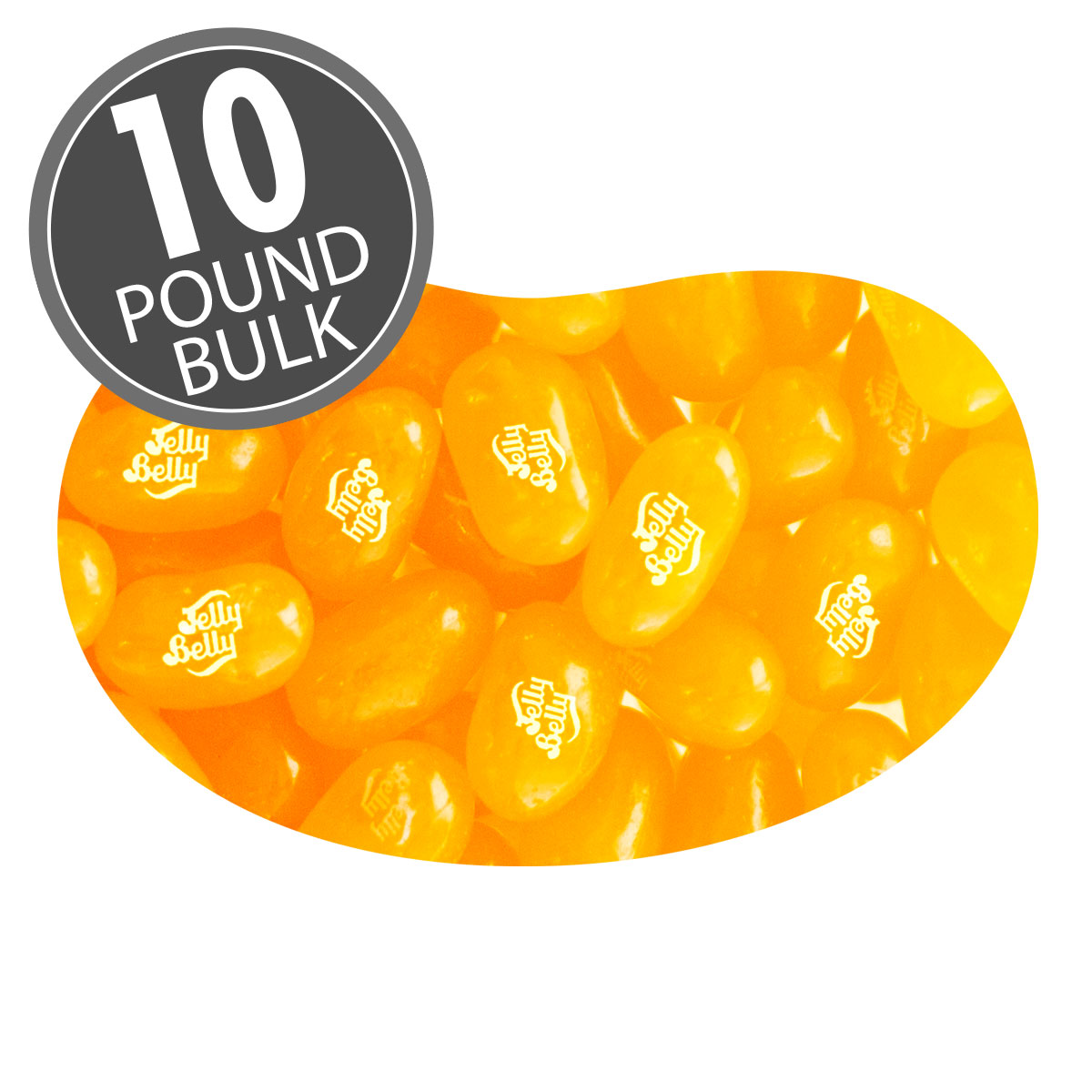 Sunkist<sup>&reg;</sup> Orange Jelly Beans - 10 lbs bulk