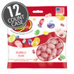 Bubble Gum Jelly Beans - 3.5 oz Bag - 12 Count Case