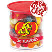 30 Assorted Jelly Bean Flavors - 7 oz Clear Cans - 12-Count Case