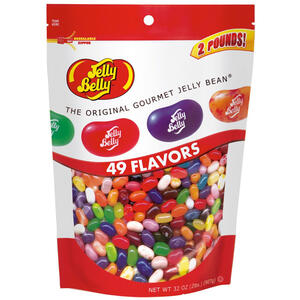 49 Assorted Jelly Bean Flavors - 2 lb Pouch