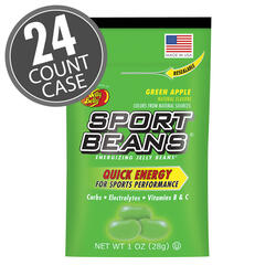 Sport Beans® Jelly Beans Green Apple 24-Pack