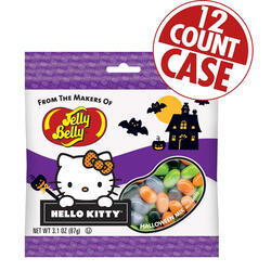 Hello Kitty® Halloween Mix Jelly Beans - 3.1 oz Bag - 12 Count Case