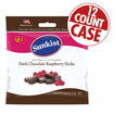 Sunkist® Dark Chocolate Raspberry Sticks - 6 oz Bag -12 Count Case