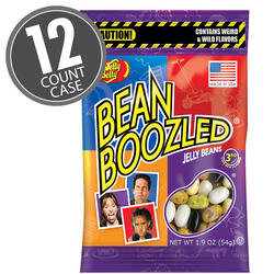 BeanBoozled Jelly Beans 1.9 oz bag (3rd edition) - 12 Count Case