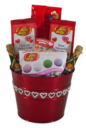 Sparkling Hearts Valentine's Day Bucket