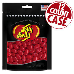 Very Cherry Jelly Beans Party Bag - 7.5 oz Bag - 12 Count Case