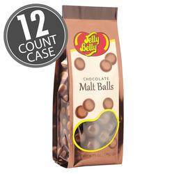 Milk Chocolate Malt Balls - 4.75 oz Gift Bags - 12 Count Case