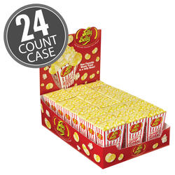Buttered Popcorn Jelly Beans Box - 1.75 oz - 24 Count Case