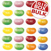 Jelly Belly Conversation Beans - 10 lbs bulk