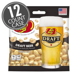 Draft Beer Jelly Beans - 3.5 oz Bag - 12 Count Case